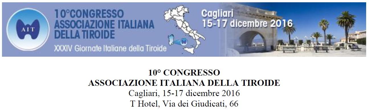 10° Congresso Associazione Italiana della Tiroide